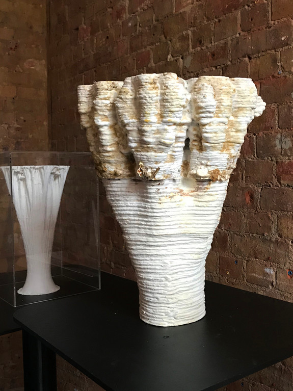 Mars & Beyond - exhibition of a piece in collaboration with Andy Lomas at Oxo tower