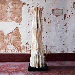 200314_Lovely Trash mycelium 3d printed Column_light.jpg