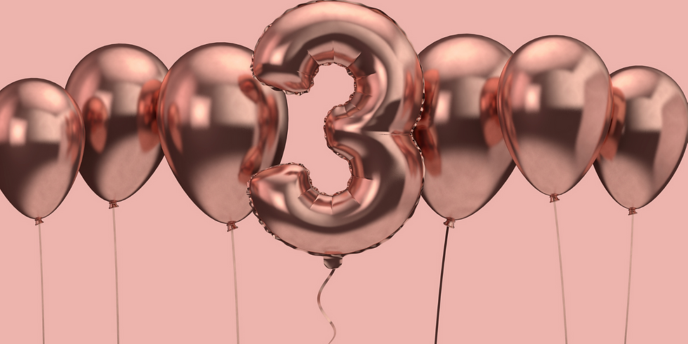 Happy Birthday - 3 Jahre Ohana Yoga Studio