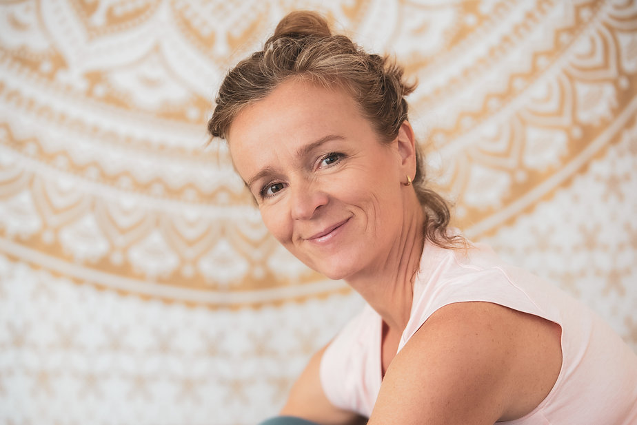 Ingeborg Guggenberger, Yoga