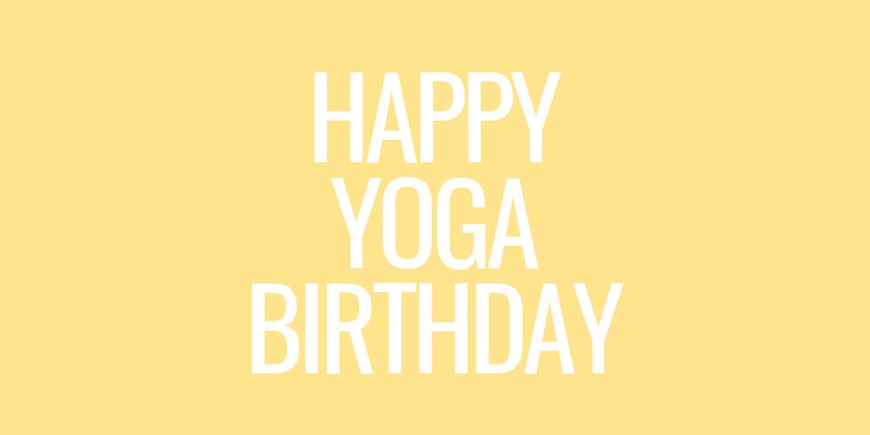 365 Tage Yoga - Wir feiern Geburtstag!