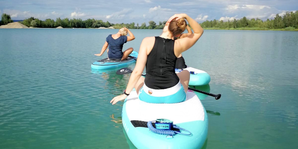 Guten Morgen Stand Up Paddle Yoga
