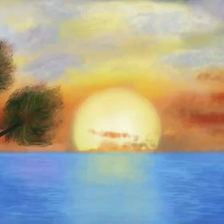 30 second time-lapse of an iPad Procreate painting