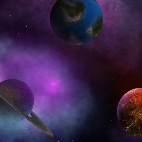Painting Planets & Space