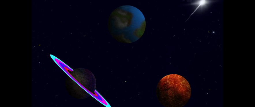 Painting Time-Lapse - Planetarium