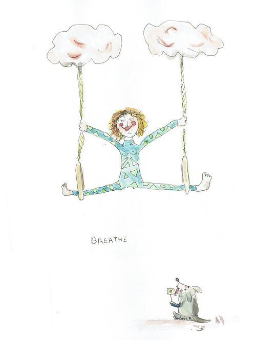 Breathe (Postkarte)