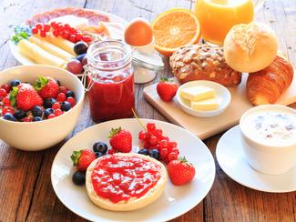 Recomendaciones para desayunar antes de una competencia.