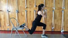 4 ejercicios de piernas para corredores para cuando no estas en el gimnasio