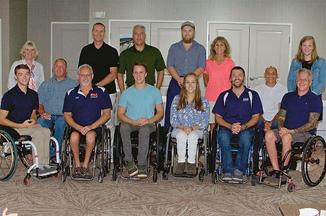 2019 USA Adaptive Water Ski World Team