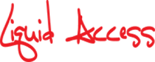 Liquid Access Red Logo