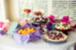Macaroon Party Bar - Desserts Gluten Free Always, Dairy Free Optional