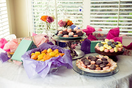 Macaroon Party Bar - Desserts Gluten Free Always, Dairy Free Optional