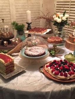 Dessert Displays Gluten Free Always, Dairy Free Optional