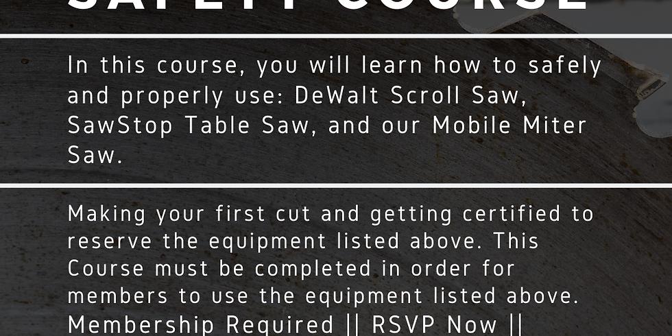 Workshop Safety Course
