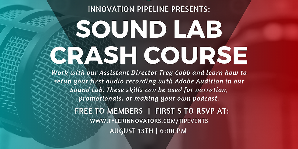 Sound Lab Crash Course