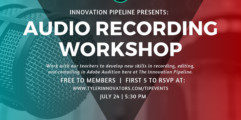 Audio Recording Workshop