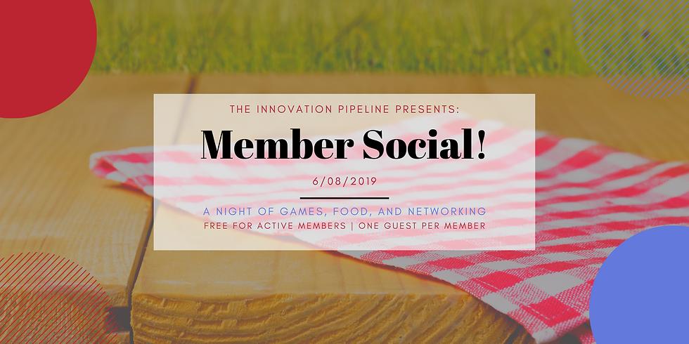 Member Social - Lawn Games
