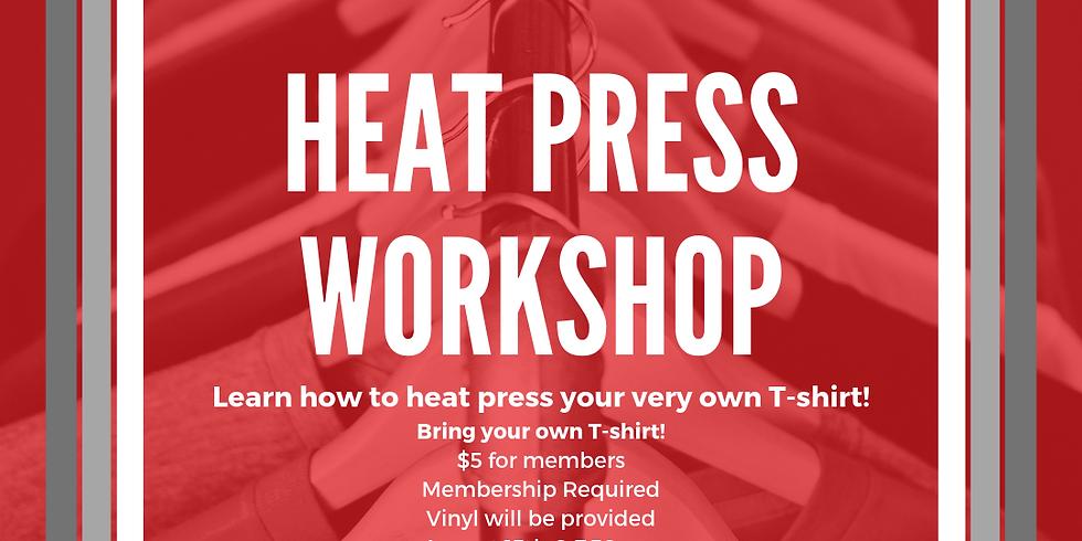 Heat Press Workshop