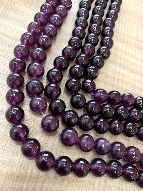 Amethyst Gemstone Beads 10mm