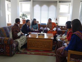 ブータン訪問(1)