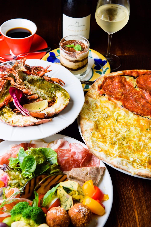 pizzeria_la buona vita_コースイメージ