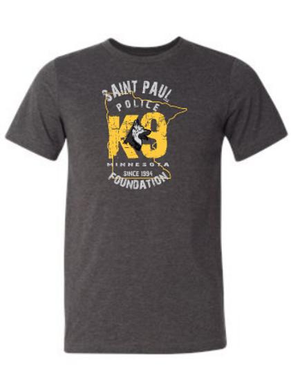 Minnesota K-9 T-shirt-full front