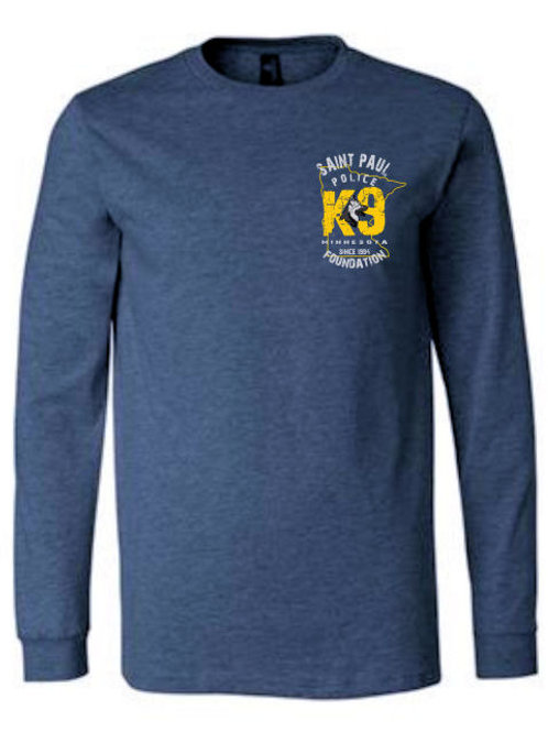Minnesota K-9 Long Sleeve T-shirt-crest