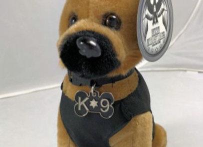 K9 Hero Stuffed Dog-in vest