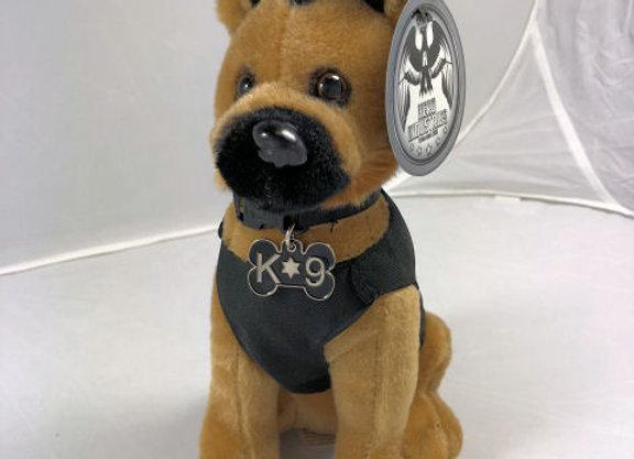 K9 Hero Stuffed Dog