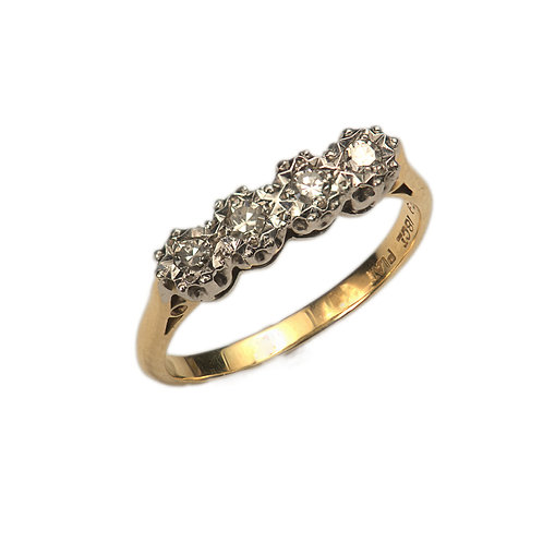 Four Stone Diamond Ring