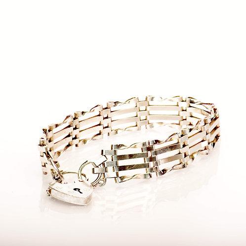 Silver Gatelink Bracelet
