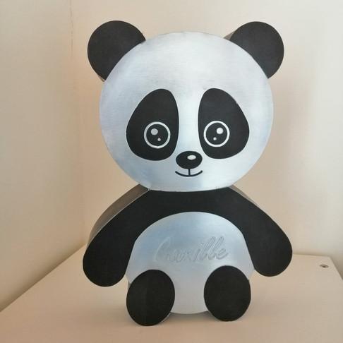 Tirelire Panda personnalisée