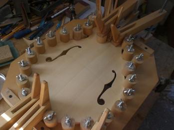 Assemblage Mandoline F5