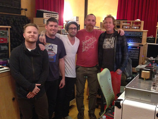 IN THE STUDIO WITH SHINEDOWN