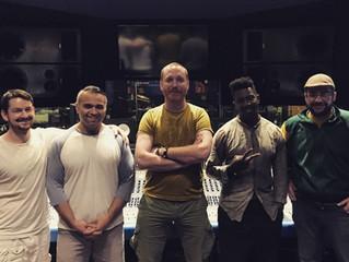 Recording the new Animals as leaders album