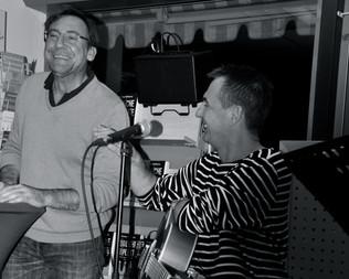 Markus Hoffmann und Olli Back