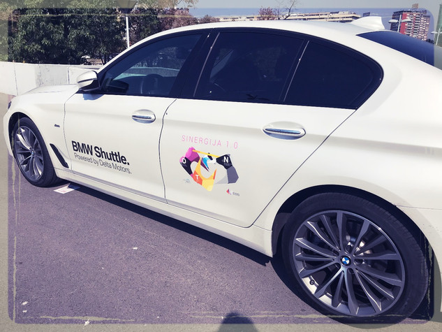 BMW Shuttle @Sinergija 1.0