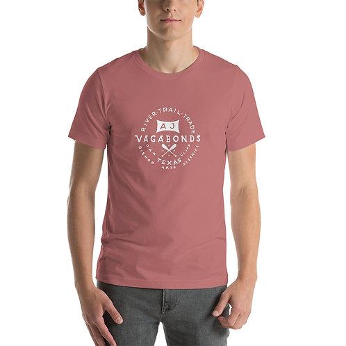 AJ Vagabonds Logo Short-Sleeve Unisex T-Shirt