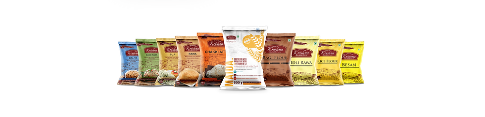 Krishna Flour Mills products
