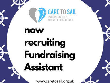 We are recruiting for a Fundraising Assistant