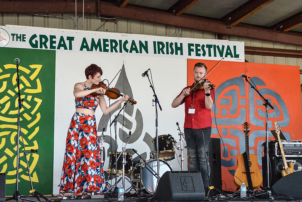 House of Hamill, Great American Irish Festival, 2018