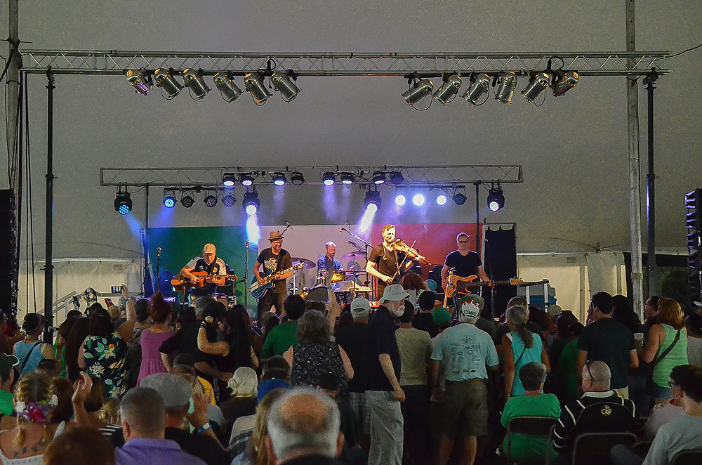 Enter the Haggis, Great American Irish Festival 2018