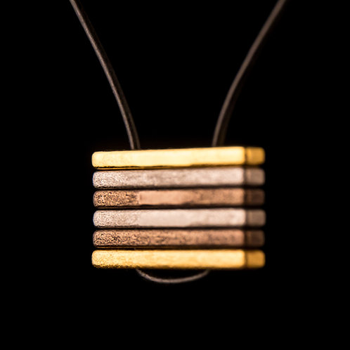 Steel Bar Pendant