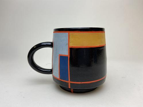 Crashing Waves of the Cubist Kind, Coffee Mug
