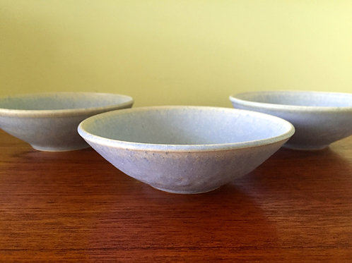Matte Blue Cereal Bowl
