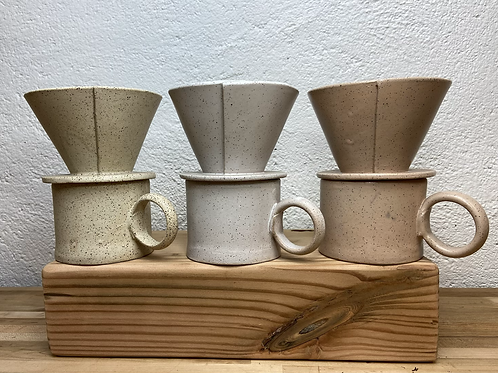 Slab Coffee Pour Over Set
