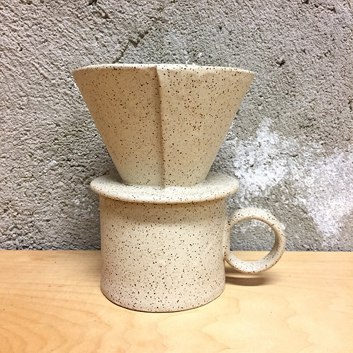 Coffee Pour Over in Stone