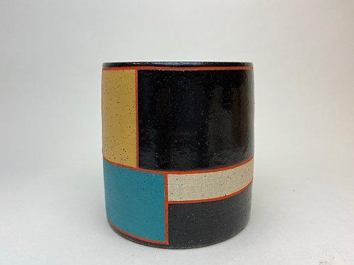 Mondrian After Dark, planter