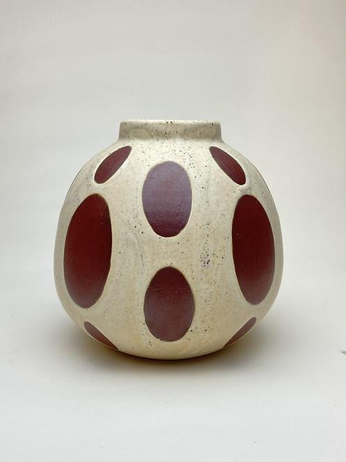 Oval Spot Vase