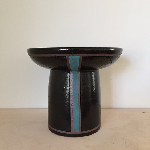 Turquoise Strip Offering Bowl